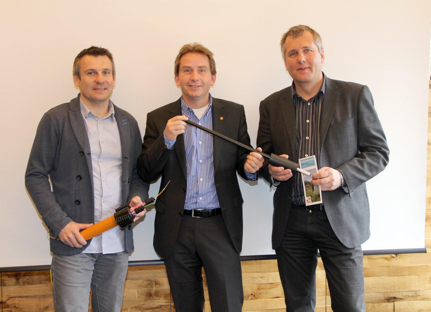 Breitbandinitiative Tirol mit BM von Gerlos Andreas Haas
